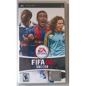 Jogo Fifa Soccer 08 - PSP - Seminovo