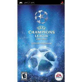 Jogo Uefa Champions League 2006 - 2007 - PSP - Seminovo
