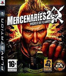 Jogo Mercenaries 2 World in Flames - PS3 - Seminovo
