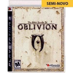 Jogo The Elder Scrolls IV - PS3 - Seminovo