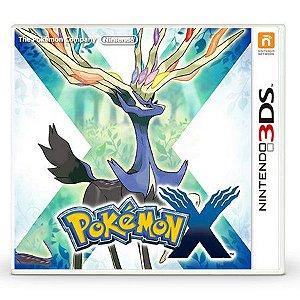 Jogo Pokemon X - Nintendo 3DS - Seminovo