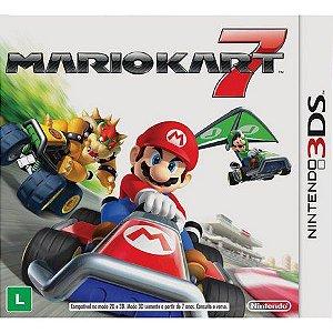 Jogo Mario Kart 7 - Nintendo 3DS - Seminovo