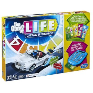 Jogo The Game of Life Cartão Eletronico Hasbro