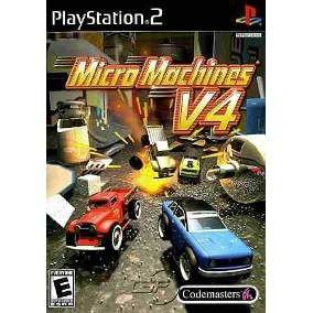 Jogo Micro Machines V4 - PS2 - Seminovo