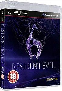 Jogo Resident Evil 6 - PS3 - Seminovo