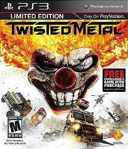 Jogo Twisted Metal - PS3 - Seminovo