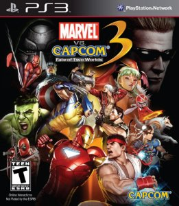 Jogo Marvel VS Capcom 3 Fate of Two Worlds - PS3 - Seminovo