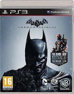 Jogo Batman Arkham Origins - PS3 - Seminovo