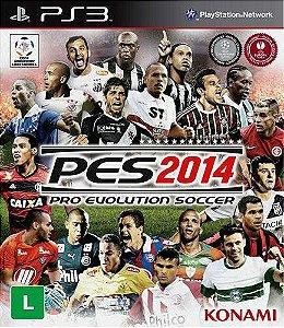Jogo PES 2014 - PS3 - Seminovo