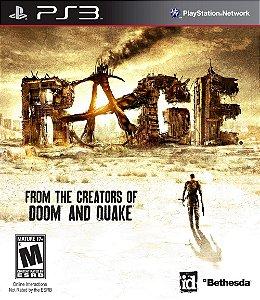 Jogo Rage - PS3 - Seminovo