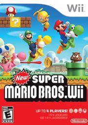 Jogo New Super Mario Bros Wii - Nintendo Wii - Seminovo
