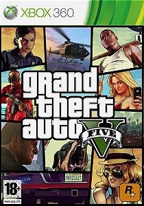 Jogo GTA 5 - Xbox 360 - Seminovo