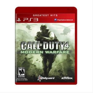 Jogo Call of Dutty Modern Warfare 4  - PS3 - Seminovo