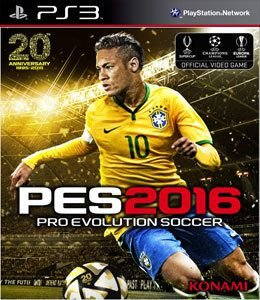 Jogo Pro Evolution Soccer 2016 - PS3 - Seminovo