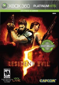 Jogo Resident Evil 5 - Platinum - XBox 360 - Seminovo