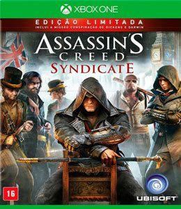Jogo Assassins Creed Syndicate Edição Limitada Xbox One - Seminovo