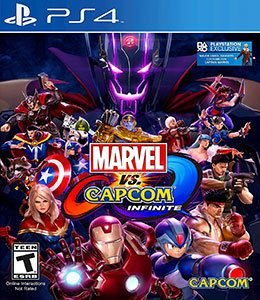 Jogo Marvel Vs. Capcom: Infinite - PS4 - Seminovo