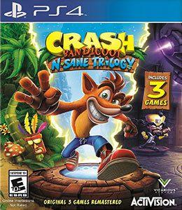 Jogo Crash Bandicoot N. Sane Trilogy- PS4 - Seminovo