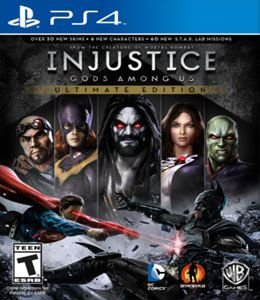 Jogo Injustice: Gods Among Us - Ultimate Edition - PS4 - Seminovo