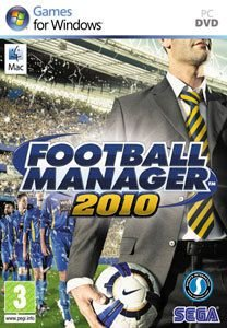 Jogo Football Manager 2010 - PC DVD - Seminovo