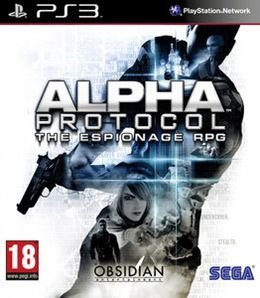 Jogo Alpha Protocol The Espionage RPG - PS3 - Seminovo