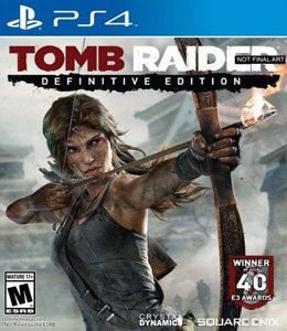 Jogo Tomb Raider Definitive Edition - PS4 - Seminovo