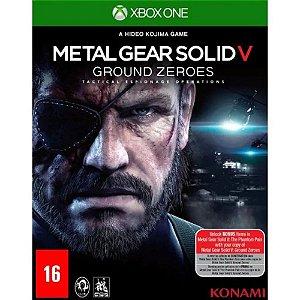 Jogo Metal Gear Solid V: Ground Zeroes - Xbox One - Seminovo