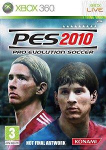 Jogo Pro Evolution Soccer 2010 - Xbox 360 - Seminovo
