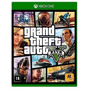 Jogo GTA V - Xbox One - Seminovo