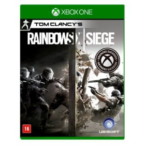 Jogo Tom Clancy's Rainbow Six Siege - Xbox One - Seminovo
