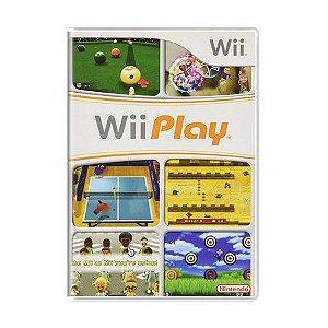 Jogo Wii Play - Wii - Seminovo