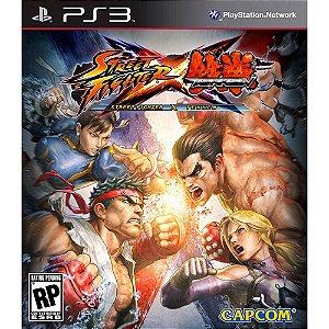Jogo Street Fighter X Tekken - PS3 - Seminovo