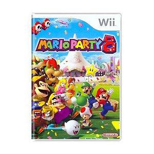 Jogo Mario Party 8 - Wii - Seminovo