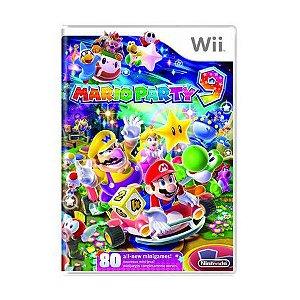 Jogo Mario Party 9 - Wii - Seminovo