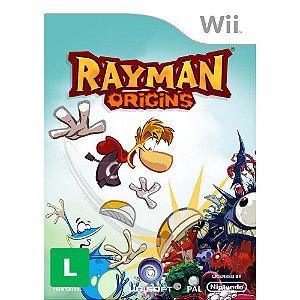 Jogo Rayman Origins- Wii - Seminovo