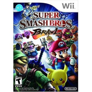 Jogo Super Smash Bros Brawl - Wii - Seminovo