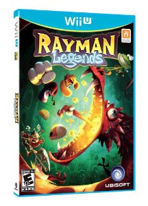 Jogo Rayman Legends - Wii U - Seminovo