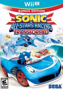 Jogo Sonic All-Stars Racing Transformed - Wii U - Seminovo