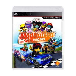 Jogo ModNation Racers- PS3 - Seminovo