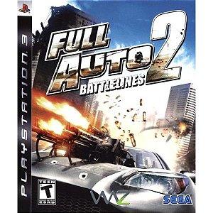 Jogo Full Auto Battleniles 2 - PS3 - Seminovo