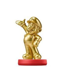 Nintendo Amiibo: Mario Gold Edition - Super Mario - Wii U e New Nintendo 3DS