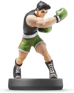 Nintendo Amiibo: Litle Mac - Super Smash Bros - Wii U e New Nintendo 3DS e Swith