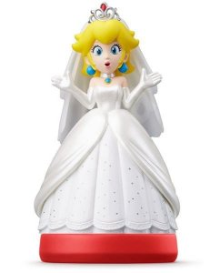 Nintendo Amiibo: Peach - Super Mario Odyssey - Wii U, New Nintendo 3DS e Switch