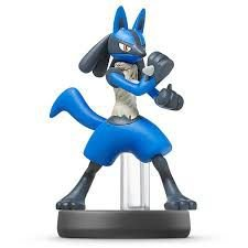 Nintendo Amiibo: Lucario - Super Smash Bros - Wii U, New Nintendo 3DS e Switch