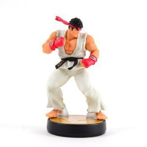 Nintendo Amiibo: Ryu - Super Smash Bros - Wii U, New Nintendo 3DS e Switch