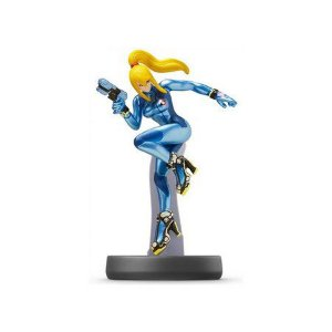 Nintendo Amiibo: Zero Suit Samus - Super Smash Bros - Wii U, New Nintendo 3DS e Switch
