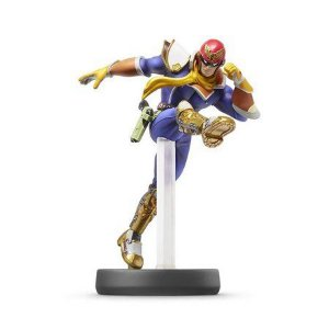 Nintendo Amiibo: Captain Falcon - Super Smash Bros - Wii U e New Nintendo 3DS e Switch
