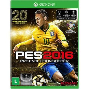 Jogo Pro Evolution Soccer 2016 - Xbox One - Seminovo