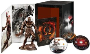 God of War Omega Collection (Edição Limitada de Colecionador) - PS3 - Seminovo