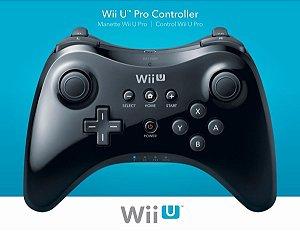 Controle Wii Pro Preto - Seminovo